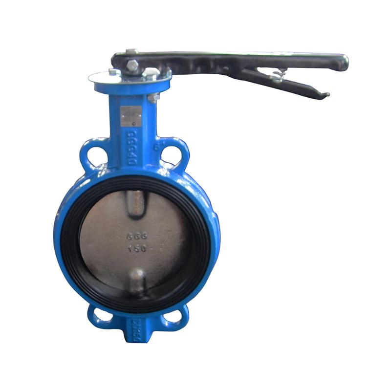 Затвор чугунный с чугунным диском и уплотнением EPDM Ду 32 PN 16 ручной