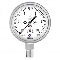 Манометры коррозионностойкие для измерения низких давлений газов