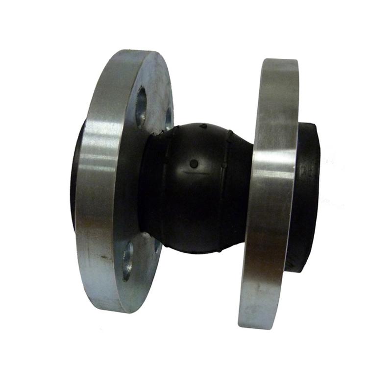 Компенсатор стальной резиновый фланцевый Ду 300 PN 10