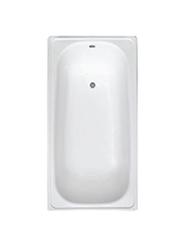 Ванна стальная эмалир. «Optimo» 1.7*0.70 см.белая (с ножками) б/сиф. Караганда