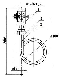 ЗК14-2-3-02 (16-225-ст20-МП) отборное устройство прямое