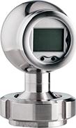 x|act i Высокоточный датчик давления с индикацией и HART-интерфейсом (мембрана из нержавеющей стали)