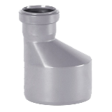 Редуктор ПВХ для внутренней канализации