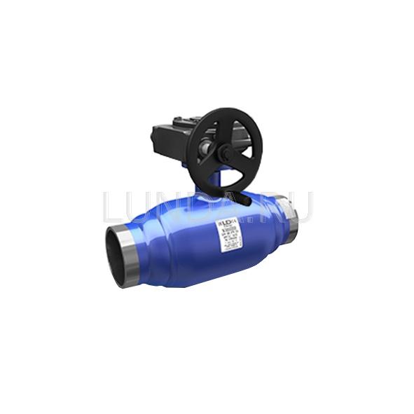 Шаровой стальной кран сварка/сварка полнопроходной Energy с механическим редуктором, Ду 150-400, Ру 16-25, LD