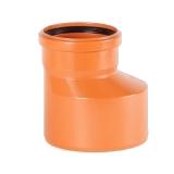 Редуктор ПВХ для наружной канализации