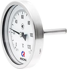 Термометры коррозионностойкие (осевое присоединение)